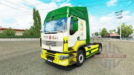 Rusty Marman de la piel para Renault camión para Euro Truck Simulator 2