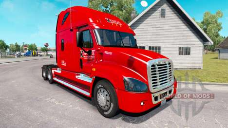 La piel de Caballero camión Freightliner Cascadi para American Truck Simulator