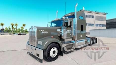 La piel de Caballero camión Refrigerado Kenworth para American Truck Simulator