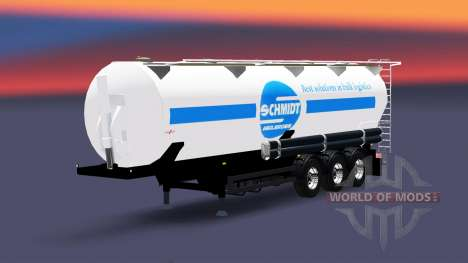Tanque semi-trailer Schmidt Heilbronn para Euro Truck Simulator 2