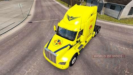 América piel para el camión Peterbilt para American Truck Simulator
