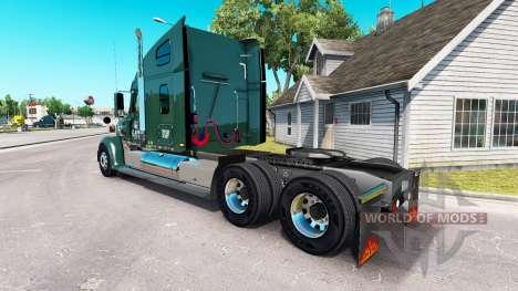 La piel de LDI en el camión Freightliner Coronad para American Truck Simulator