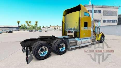La piel de Carbono Personalizado en el camión Ke para American Truck Simulator