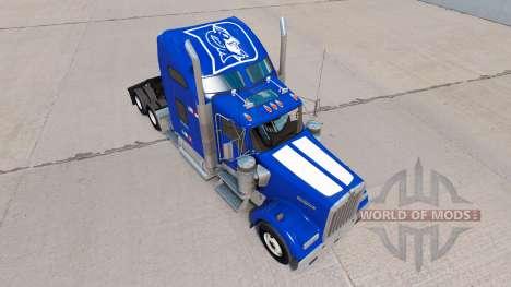 Скин de la Universidad de Duke Orgullo на Kenwor para American Truck Simulator