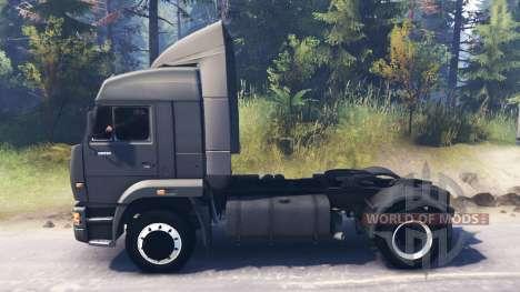 KamAZ-5460 para Spin Tires