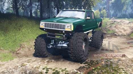 Jeep Grand Cherokee Comanche 4x4 v3.0 para Spin Tires