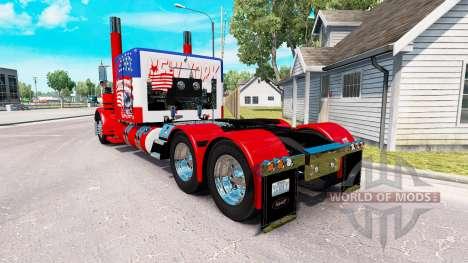USA la piel para el camión Peterbilt 389 para American Truck Simulator