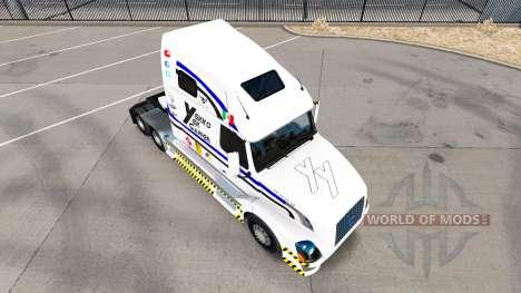 La piel Yekko Yekk Jugador en el tractor Volvo V para American Truck Simulator