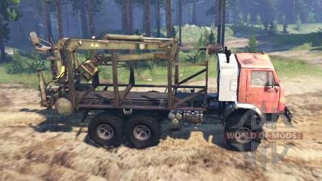 KamAZ-53212 Unión Soviética para Spin Tires