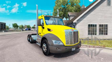 La piel Dulce Pete Día de la Cabina del tractor  para American Truck Simulator