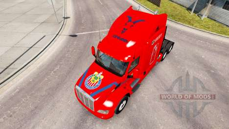 Chivas de la piel para el camión Peterbilt para American Truck Simulator