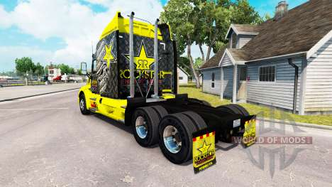 Rockstar Energy piel para el camión Peterbilt para American Truck Simulator