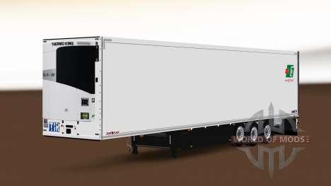 Semi-Remolque Schmitz Cargobull A. Griciaus para Euro Truck Simulator 2