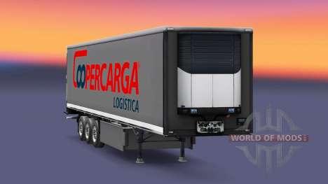 La piel Coopercarga Logística para semi-remolque para Euro Truck Simulator 2