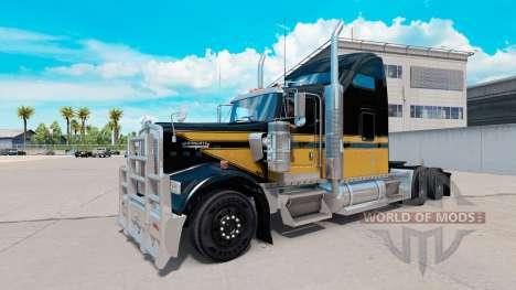 La piel del muñeco de Nieve en el camión Kenwort para American Truck Simulator