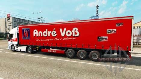 Andre Voss de la piel para el remolque para Euro Truck Simulator 2