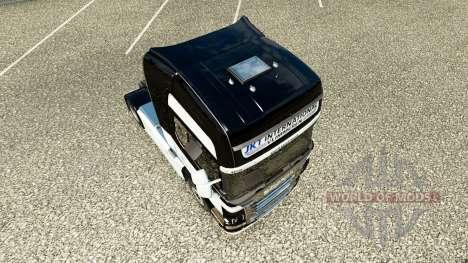 JKT Internacional de la piel para Scania camión para Euro Truck Simulator 2