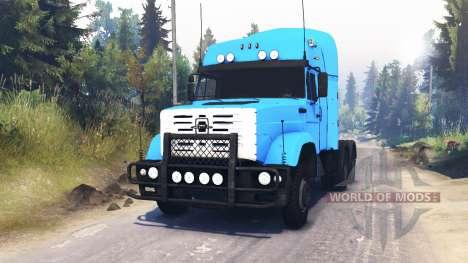 ZIL-4331 de 6x6 para Spin Tires