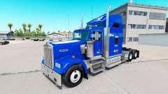La piel de Duke v1.03 en el camión Kenworth W900