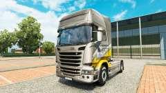 Maroni Transporte de la piel para Scania camión