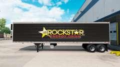 La piel Rockstar Energy para la semi-refrigerado