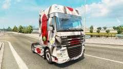 La piel Japao Copa 2014 para DAF camión