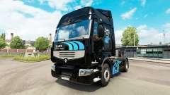 ELMEX de la piel para Renault camión