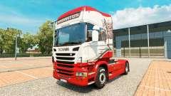 Sarantos de la piel para Scania camión