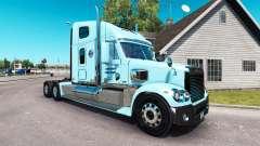 La piel de Gordon en el camión Freightliner Coro