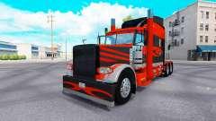 La piel para el camión Peterbilt 389