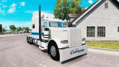 La piel de Con-way Freight para el camión Peterb