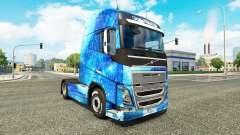 El agua de la piel para camiones Volvo