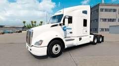 Celadon de Camiones de la piel para Kenworth tra