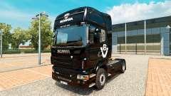 La piel Scania V8 camión Scania
