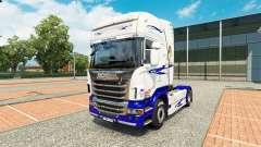 El Sueño americano de la piel para Scania camión