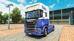 El H. Veldhuizen BV de la piel para Scania camió