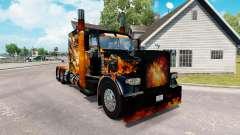 Pieles de Big Bang en el camión Peterbilt 389