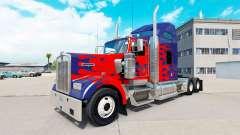 La piel de Optimus Prime camión Kenworth W900