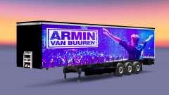 La piel de Armin van Buuren en el remolque