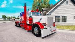 USA la piel para el camión Peterbilt 389