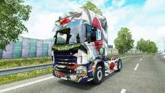 La piel Japao Copa 2014 para Scania camión