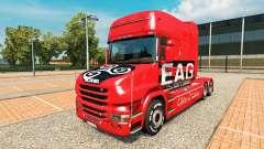 EAG de la piel para camión Scania T