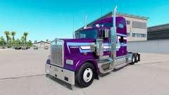 La piel Icono de Estilo en el camión Kenworth W9