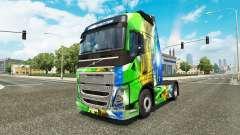 Brasil 2014 en la piel v3.0 para camiones Volvo