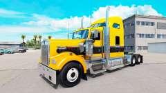 Piel de Oro Negro en el camión Kenworth W900