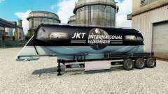 JKT Internacional de la piel para el semirremolq