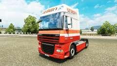La Nabers skin for DAF truck