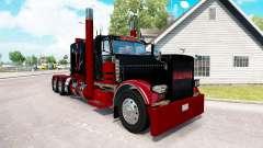 Deadpool de la piel para el camión Peterbilt 389