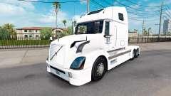 La piel de América del Norte para camiones Volvo