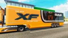 Semi-remolque frigorífico camión DAF XF